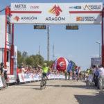 Jon Aberasturi ganador y primer líder de la Vuelta Aragón 2018