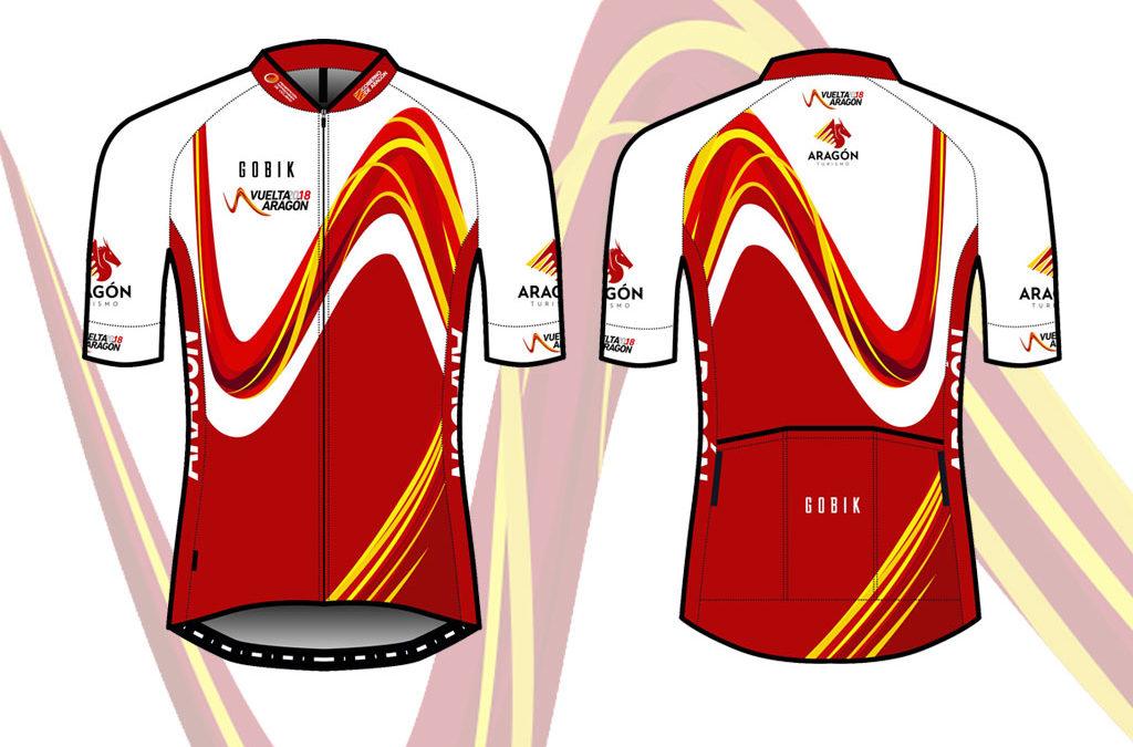 La Vuelta Aragón presenta su maillot conmemorativo