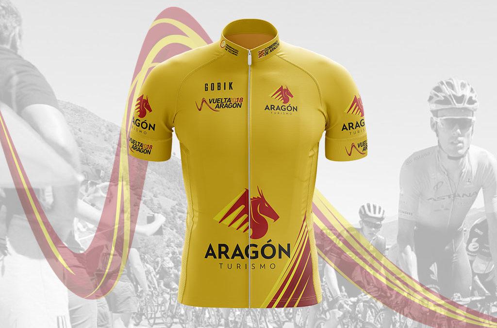 Maillot líder de la Vuelta Aragón
